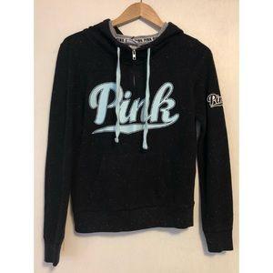 PINK Victoria's Secret half zip pullover hoodie